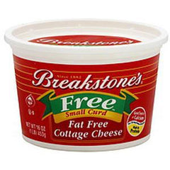 BREAKSTONE FAT FREE COTTAGE CHEESE