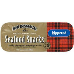BRUNSWICK KIPPERED SEAFOOD SNACK