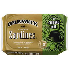 BRUNSWICK SARDINE IN OLIVE OIL