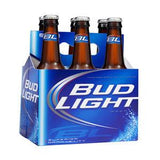 BUD LIGHT BOTTLED BEER