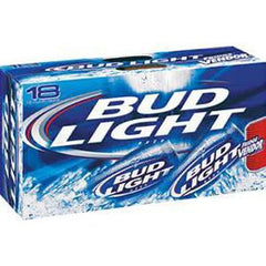BUD LIGHT CANNED BEER - 18 PK