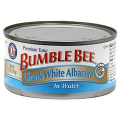 BUMBLE BEE TUNA CHUNK WHITE ALBACORE IN OIL