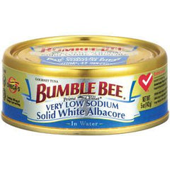 BUMBLE BEE LOW SODIUM SOLID WHITE ALBACORE IN WATER