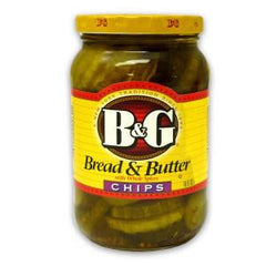 B&G BREAD & BUTTER CHIPS PICKLES