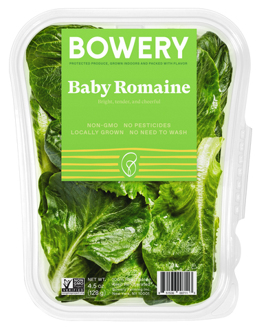 Bowery Farming Locally Grown Greens