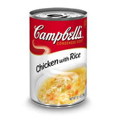 CAMPBELL'S CHICKEN W RICE SOUP