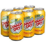 CANADA DRY TONIC WATER - 6 PACK 12 FL OZ EACH CAN