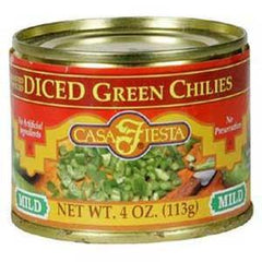 CASA FIESTA DICED GREEN CHILIES