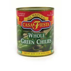 CASA FIESTA WHOLE GREEN CHILES