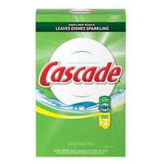 CASCADE POWDER LEMON DISHWASHER DETERGENT