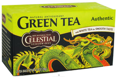 CELESTIAL SEASONING AUTH GREEN TEA