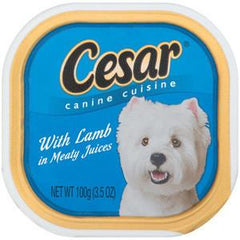 CESAR W LAMB IN MEATY JUICE