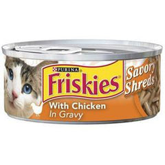 FRISKIES SHREDDED WITH CHICKEN IN GRAVY