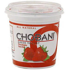 CHOBANI 0% STRAWBERRY - NON FAT GREEK YOGURT