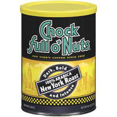CHOCK FULL O' NUTS NY ROAST COFFEE