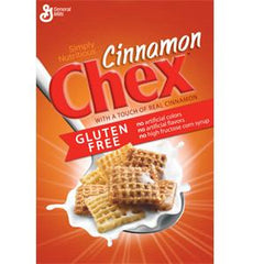 GENERAL MILLS CINNAMON CHEX GLUTEN FREE CEREAL