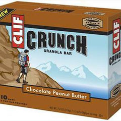 CLIF CRUNCH CHOCOLATE PEANUT BUTTER GRANOLA BAR
