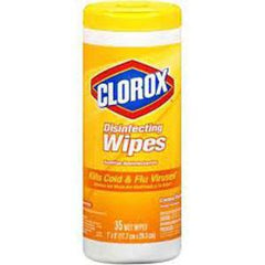 CLOROX DISINFECTING WIPES LEMON FRESH 35 WET WIPES