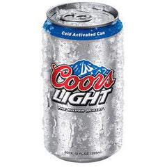 COORS LIGHT CANS BEER