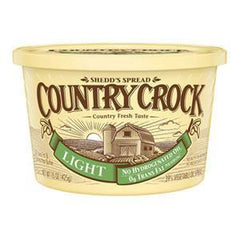 COUNTRY CROCK LIGHT SHEDD'S SPREAD