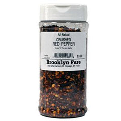 BROOKLYN FARE CRUSHED RED PEPPER - ALL NATURAL