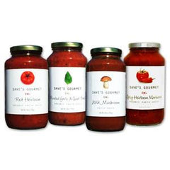 DAVE'S GOURMET ORGANIC RED HEIRLOOM PASTA SAUCE