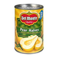 DEL MONTE PEARS HALVES IN 100% JUICE