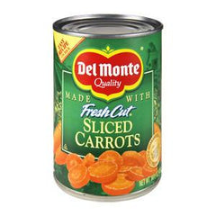 DEL MONTE SLICED CARROTS