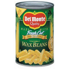 DEL MONTE CUT GOLDEN WAX BEANS