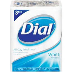 DIAL WHITE BODY SOAP 3 PACK
