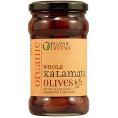 DIVINA ORGANIC WHOLE KALAMATA OLIVES