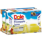 DOLE PINEAPLE JUICE 6 PACK