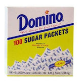 DOMINO SUGAR PACKETS 100 CT