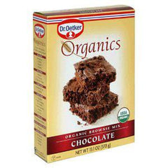DR OETKER ORGANIC BROWNIE MIX