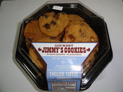 JIMMY'S COOKIES ALL NATURAL CHOCOLATE CHUNK COOKIES