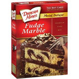 DUNCAN HINES FUDGE MARBLE CAKE MIX
