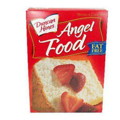 DUNCAN HINES ANGEL FOOD CAKE MIX