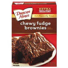 DUNCAN HINES CHEWY FUDGE BROWNIES