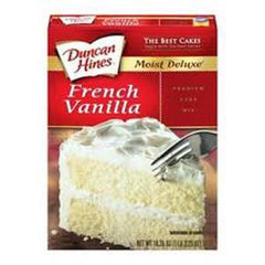 DUNCAN HINES FRENCH VANILLA CAKE MIX