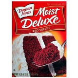 DUNCAN HINES MOIST DELUXE RED VELVET CAKE MIX