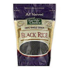 EARTHLY CHOICE ALL NATURAL 100% WHOLE GRAIN BLACK RICE