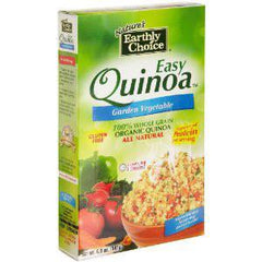 EARTHLY CHOICE ALL NATURAL EASY QUINOA GARDEN VEGETABLE