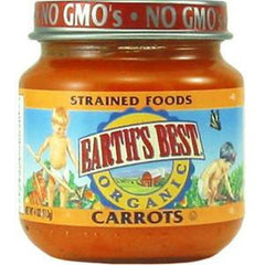 EARTH'S BEST ORGANIC CARROTS - BABY FOOD