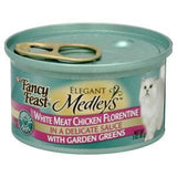 FANCY FEAST MEDLEYS WHITE MEAT CHICKEN FLORENTINE IN A DELICATE SAUCE
