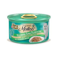 FANCY FEAST    MEDLEYS YELLOWFIN TUNA FLORENTINE WITH GARDEN GREENS