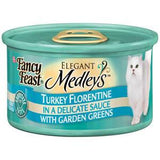 FANCY FEAST    MEDLEYS TURKEY FLORENTINE WITH GARDEN GREENS
