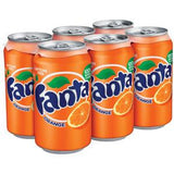 FANTA ORANGE 6 PACK - 12 FL OZ EACH CAN