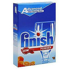 FINISH POWDER ORANGE DISHWASHER DETERGENT