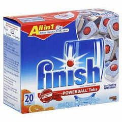 FINISH POWERBALL TABS DISH DETERGENT