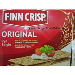 FINN CRISP ORIGINAL THIN RYE CRACKER